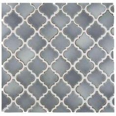 Merola Tile Hudson Tangier Grey Eye 12-3/8 in. x 12-1/2 in. x 5 mm Porcelain Mosaic Tile FKOLTR12 at The Home Depot - Mobile