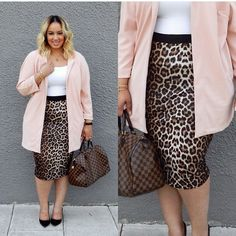I usually don't dig animal print but this right here!!