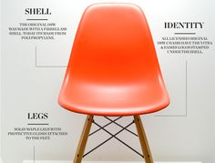The Vitra Eames DSW Plastic Side Chair, designed by American duo Charles and Ray Eames in 1950, has become one of the most popular chairs of the 20th century.