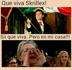 Memes en español skrillex