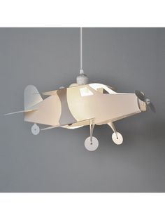 childrens pendant lighting. Childrens White Aeroplane Ceiling Pendant Plastic Shade Lighting S