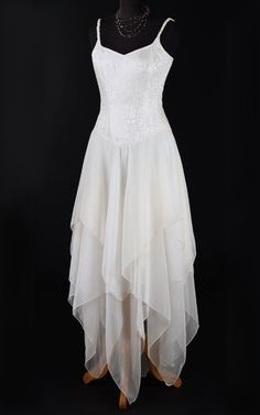 440IV - Faery Dress. Maybe with some ice blue colors around the bottom, almost it was dipped in it