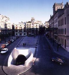 Antonio Calatrava - Plaza de Espana - Alcoy Spain - 1992-1995