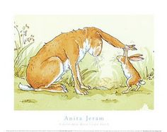 Anita Jeram Posters and Prints Anita Jeram, Graphic Prints, Impressionist, Sculptures, Abstract, Artist, Photography, Painting, Baby Room