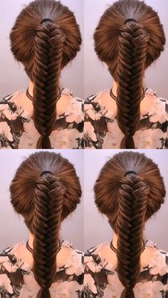 There are ten beautiful braids you should try this winter. I know I have, which is why I'm sharing these braids. Easy Updo Hairstyles, Summer Hairstyles, Girl Hairstyles, Braids For Long Hair, Trending Hairstyles, Hair Videos, Hair Hacks, Hair Lengths, Hair Pins