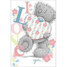 I Love U - Tatty Teddy