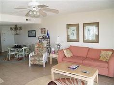 #NetworkVacations Fall season is a beautiful time to visit the coast! This two bedroom, two bathroom beach condo for rent in Carolina Beach, North Carolina has ocean views and is located right next the fishing pier. #CarolinaBeachNC
