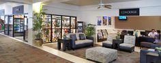 Our lobby features two restaurants, stores & more. #Waikiki #Hawaii #AquaHotels #AquaWaikikiWave