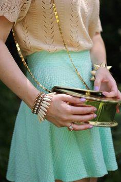 accessorize #gold #bracelets
