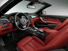 2014 BMW 4 Series Convertible & Style: wants to know what's not to love? Wallpapers Bmw, Convertible, Bmw Interior, Bavarian Motor Works, Auto News, Cabriolet, Bmw M4, Bmw Cars, Car Photos