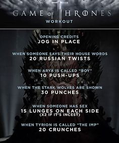 'Game of Thrones' workout plan will give you Kingslayer abs | PopWatch | EW.com