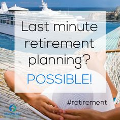 You Don't Have Millions in the Bank... Fear You Will Never Be Able to Retire?   See the Last Minute Retirement Plan  and Learn How You Really Can Retire Comfortably! Even when you're 55+ and didn't plan early on... https://go.lastminuteretirementplan.com/lmrpoi