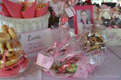 Mesa Dulce para Lucía Table Decorations, Home Decor, Candy Buffet, Candy Stations, Mesas, Homemade Home Decor, Decoration Home, Dinner Table Decorations, Interior Decorating