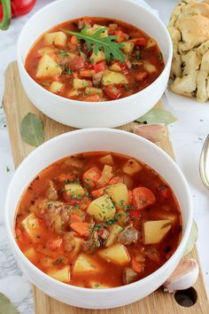 Soup Recipes, Diet Recipes, Healthy Recipes, Thai Red Curry, Food And Drink, Cooking, Ethnic Recipes, Soups, Blog