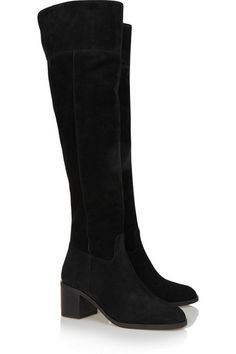 MICHAEL Michael Kors | Paulette suede over-the-knee boots | NET-A-PORTER.COM