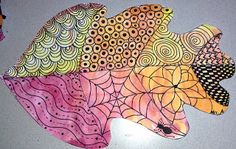 Art: Expression of Imagination: Fall Art by Second Grade