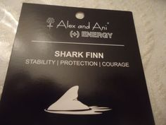 Alex-and-Ani-SHARK-FIN-Russian-Gold-Charm-Bangle-New-W-Tag-Card-Box