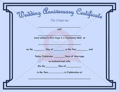 work anniversary certificate templates