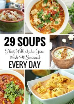 You know the ones. Those soups you only have to try one time to realize you wish every day could be freezing cold and blizzarding outside so you can make said soup over and over again. You're going...