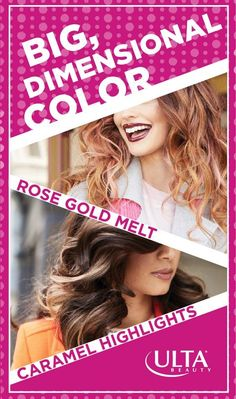Wanna know a secret? Hair color can help add full dimension to your hair. Get these swoon-worthy looks at The Salon at Ulta Beauty! It's the place to go for statement-making, always on-trend hairstyles. Make an appointment today!