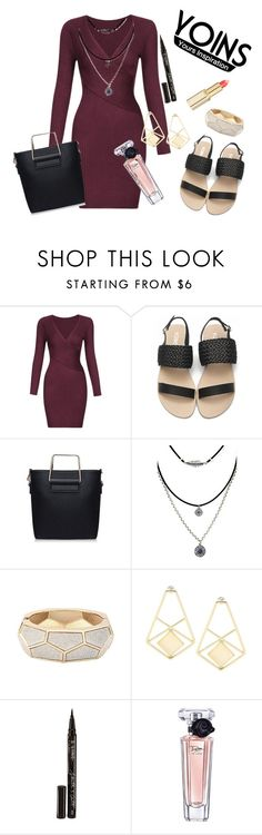 """YOINS"" by lipsy-look ❤ liked on Polyvore featuring Smith & Cult, Lancôme and L'Oréal Paris"
