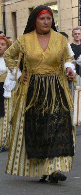 Sardinian Costume   Domusnovas