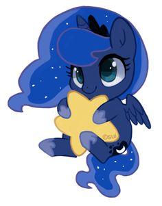 Luna Keychain by *suikuzu on deviantART Wittle Wuna Luna Princess Luna {heart breaks because spoilers}
