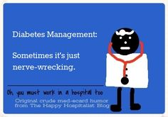 See the complete collection of original diabetes humor memes!