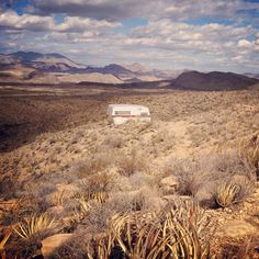 :: Terlingua, Texas - this is my memory of Texas and the many times I have driven through........