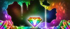 I ♥ Rainbow Diamonds Equestrian, Objects, Rainbow, Logos, Diamonds, Art, Black People, Rain Bow, Art Background