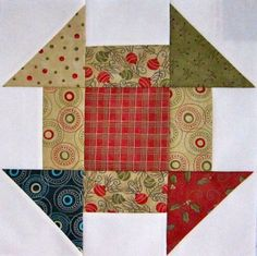 How to Sew Churn Dash Quilt Blocks | New Quilters