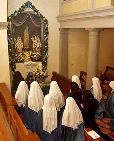 Marian Consecration by the Blessed Mother's special daughters.