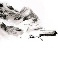 Selkirk Mountains via Arc'teryx athlete Christina Lusti