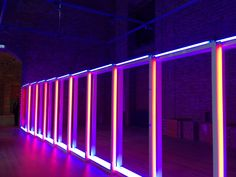 Dan Flavin at Schloss Herrenchiemsee