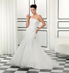 Style EK988, Eddy K Cheap Wedding Dresses Uk, Elegant Wedding Gowns, Timeless Wedding, Long Sleeve Wedding, Wedding Dress Sleeves, One Shoulder Wedding Dress, Bridal Gown Styles, Bridal Gowns, Tulle Lace