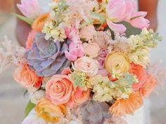 Inspiration du jour : bouquet de succulentes • Hellocoton.fr