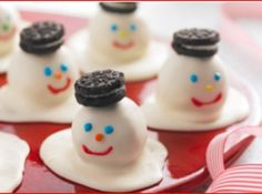 One of my all time favorite recipes.  You can also use oreos, and peppermint oreos are awesome as well :) recipe is super simple.  These are decorated for Christmas, but you can make regular cookie balls with different designs