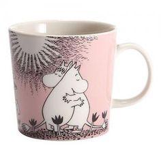 Arabia - Moomin - Mug - Love Moomin Mugs, Tove Jansson, Porcelain, Ceramics, Tableware, Travel, Design, Patches, Corning Glass