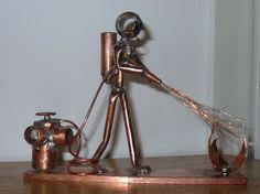 copper sculptures | pompier Copper