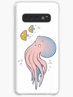 This brand new 'Pink Octopus' design will look great on any product. It is fun, cute and eye-catching. / Find somebody the perfect gift! Choose from the many varieties of products and BUY IT NOW to place your order. Octopus Design, Galaxy Design, Style Snaps, Free Stickers, Iphone Wallet, Protective Cases, Finding Yourself, Samsung Galaxy, Tech