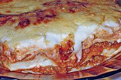 de Bechamel & minced meat & lasagna (recipe with picture) & Chefkoch.de The post Bechamel & minced meat & lasagna (recipe with picture) Chicken Sauce Recipes, Meat Recipes, Pasta Recipes, Cooking Recipes, Meat Appetizers, Thanksgiving Appetizers, Appetizer Recipes, Lasagna No Meat Recipe, Meat Lasagna