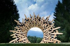 Discarded Tree Trunks & Branches Turned Into Stunning - Sculptures of wood Lee Jae-Hyo