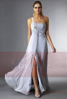 Robe longue grise Arnica