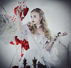 Alice in Wonderland: White Queen by LilSophie.deviantart.com on @DeviantArt