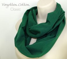 Shoply.com -Infinity Scarf Evergreen Green Dark. Only $20.00