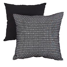 @Overstock - This Oval Dots throw pillow from Pillow Perfect will compliment any room's decor. Bold black and white in a striking geometric pattern give this pillow a modern edge.  http://www.overstock.com/Home-Garden/Pillow-Perfect-Oval-Dots-Black-Throw-Pillow/6428462/product.html?CID=214117 $22.62