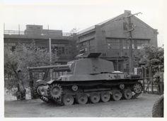 "Imperial Japanese Army Medium Tank Type 3 ""Chi-Nu""."