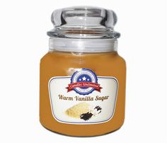 Warm Vanilla Sugar - Soy Blend Container Scented Candles by CandlesUnlimitedInc on Etsy