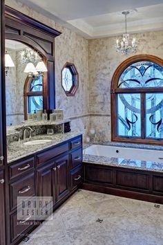 Traditional Bath Design by Drury Design Kitchen & Bath Studio