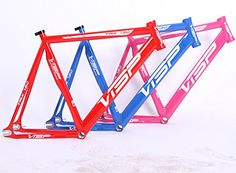Fixed Gear Bike Frames - Visp Trx790 Alloy Fixed Gear Fixie Frame >>> You can get additional details at the image link.
